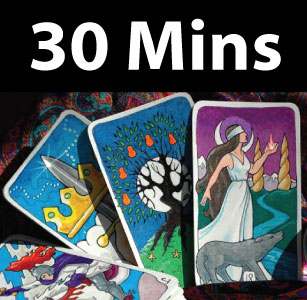 Psychic / Clairvoyant Card Reading 30 Mins